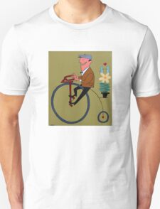 Penny Farthing Rider Unisex T-Shirt