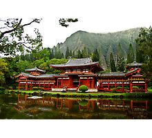Byodo-in Temple Photographic Print
