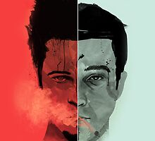 Fight Club Tyler Durden by metroemporium