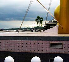 Waterfront Sculpture, Brunei 02 by AlisonOneL