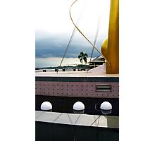 Waterfront Sculpture, Brunei 02 Photographic Print