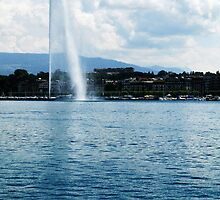Lake Léman, Geneva by AlisonOneL