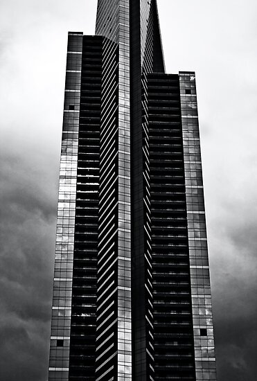 Eureka Tower Melbourne. by Nicholas Griffin