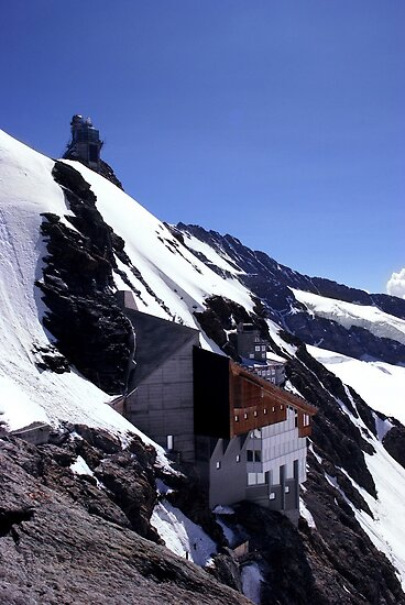 Jungfraujoch Railway Station, Swiss Alps by AlisonOneL