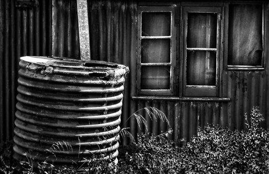 Old Farmers Shack. by Nick Griffin