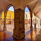 Pousada Courtyard by manateevoyager
