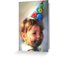 """Little Comic Clown..."" Greeting Card"