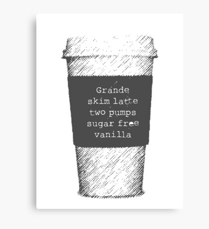 Beckett's Coffee Canvas Print
