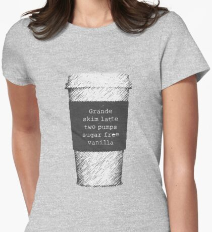 Beckett's Coffee Womens Fitted T-Shirt