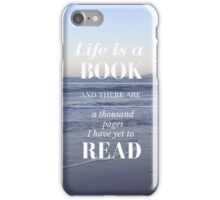 Life is a Book- Cassandra Clare- Beach iPhone Case/Skin