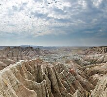 Panorama Point - Badlands National Park, South Dakota by Jason Heritage
