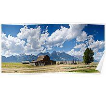 Mormon Row - Grand Teton National Park, Wyoming Poster