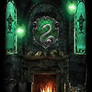 Slytherin Common Room by Serdd