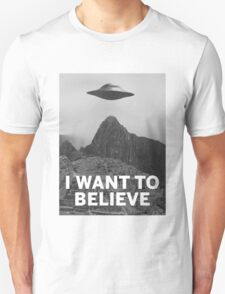Want2Believe (Machu Picchu) Unisex T-Shirt