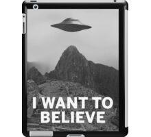 Want2Believe (Machu Picchu) iPad Case/Skin