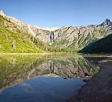 Avalanche Lake - Glacier National Park, Montana by Jason Heritage