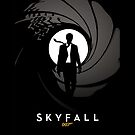 Skyfall James Bond 007 by metroemporium