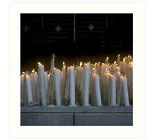Sanctuary of Lourdes, France 2005 Art Print