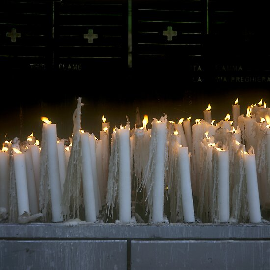 Sanctuary of Lourdes, France 2005 by Michel Meijer