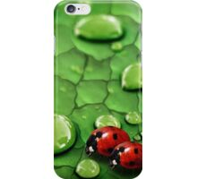 Lady bug- iphone case iPhone Case/Skin