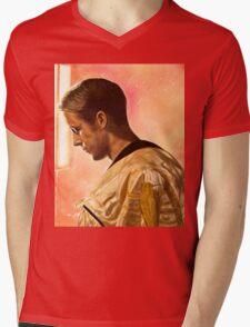 Ryan Gosling from Drive  Mens V-Neck T-Shirt