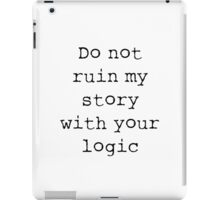 What Richard Castle Said iPad Case/Skin