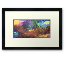 The Colours of Spring Framed Print