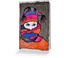 Winterportrait 1 Greeting Card