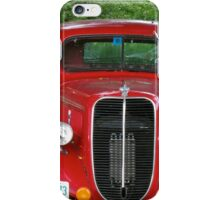 Old Red Truck iPhone Case/Skin