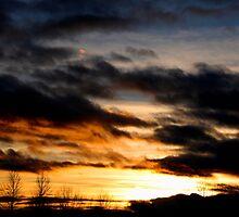 winter clouds Winnemucca by DonActon