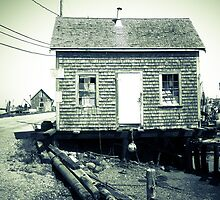 Menemsha Fishing Shack by Elizabeth Thomas