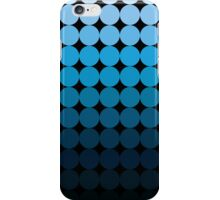 Circle Fade iPhone Case (Blue) iPhone Case/Skin