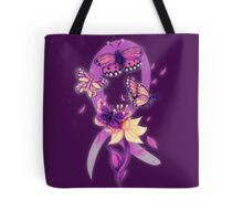 Beautiful purple butterflies  Tote Bag