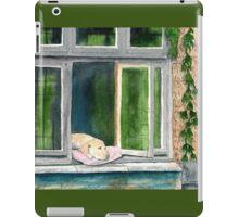 Window Doggie iPad Case/Skin