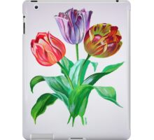 Tulip Trio iPad Case/Skin