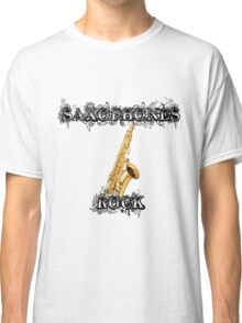 Saxophones Rock Classic T-Shirt