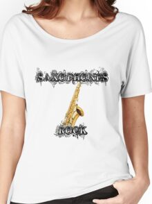 Saxophones Rock Women's Relaxed Fit T-Shirt