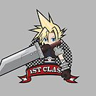 Final Fantasy VII - First Class - Cloud Strife Poster by FFVII-TheSeries