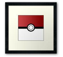 Pokemon Ball Framed Print