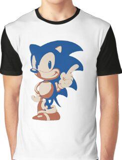 Minimalist Sonic 4 Graphic T-Shirt