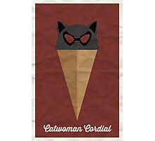 Catwoman Cordial Photographic Print