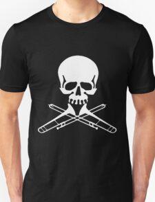 Skull with Trombone Crossbones T-Shirt
