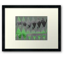 neon glow Framed Print