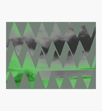 neon glow Photographic Print