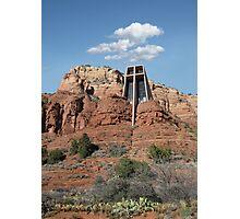 Chapel of the Holy Cross, Sedona, Arizona Photographic Print