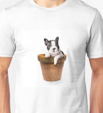 Potted Pooch Unisex T-Shirt