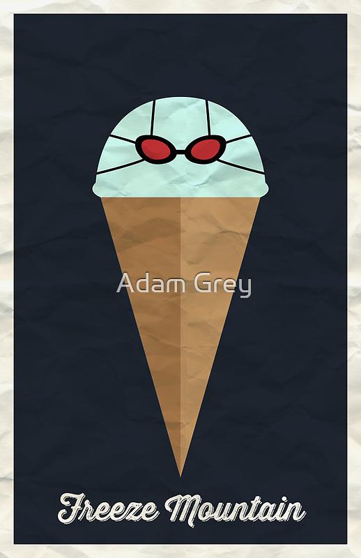 Freeze Mountain by Adam Grey