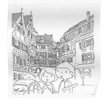 promenade en Alsace (france) Poster
