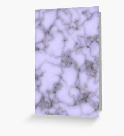Purple marble Greeting Card