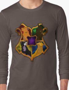 Warrior Cats meets Hogwarts Long Sleeve T-Shirt
